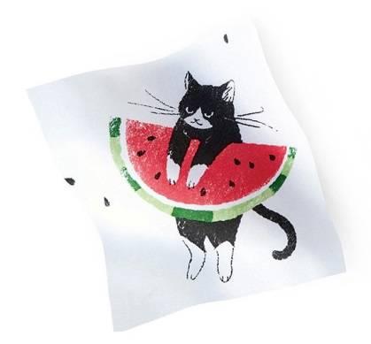 多汁的西瓜和猫咪搭配的「連衣裙」和「包包」在『FELISSIMO猫部™』新登場