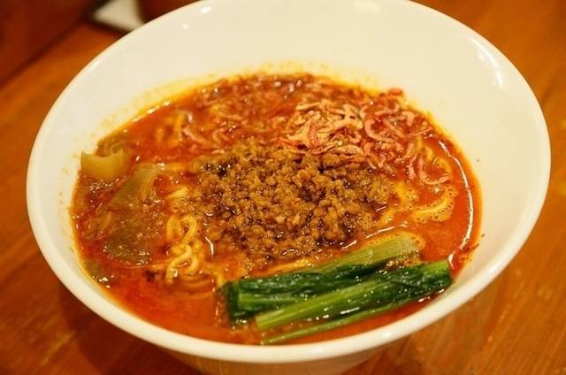 東京担担麺在中野 :滿滿蝦味,令人驚豔的辣湯麵!