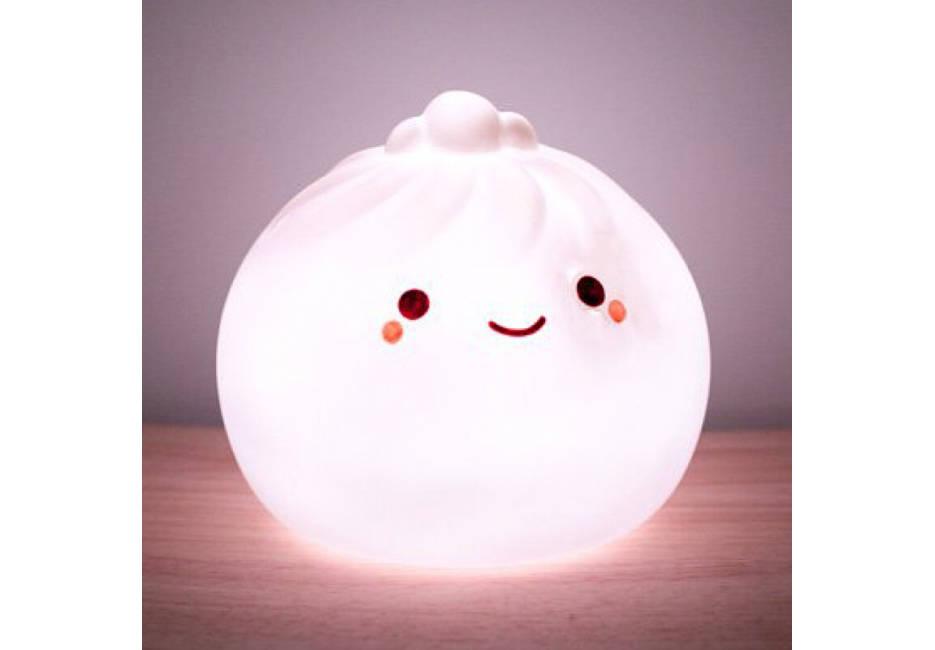 內建7彩霓虹燈!超可愛又療癒的「小籠包燈」在Gloture網購開賣!