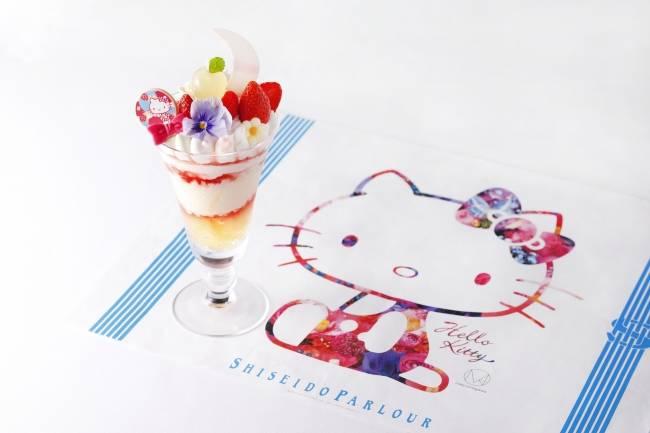 蜷川實花老師監製!Hello Kitty45週年紀念特別版蘋果聖代在資生堂登場