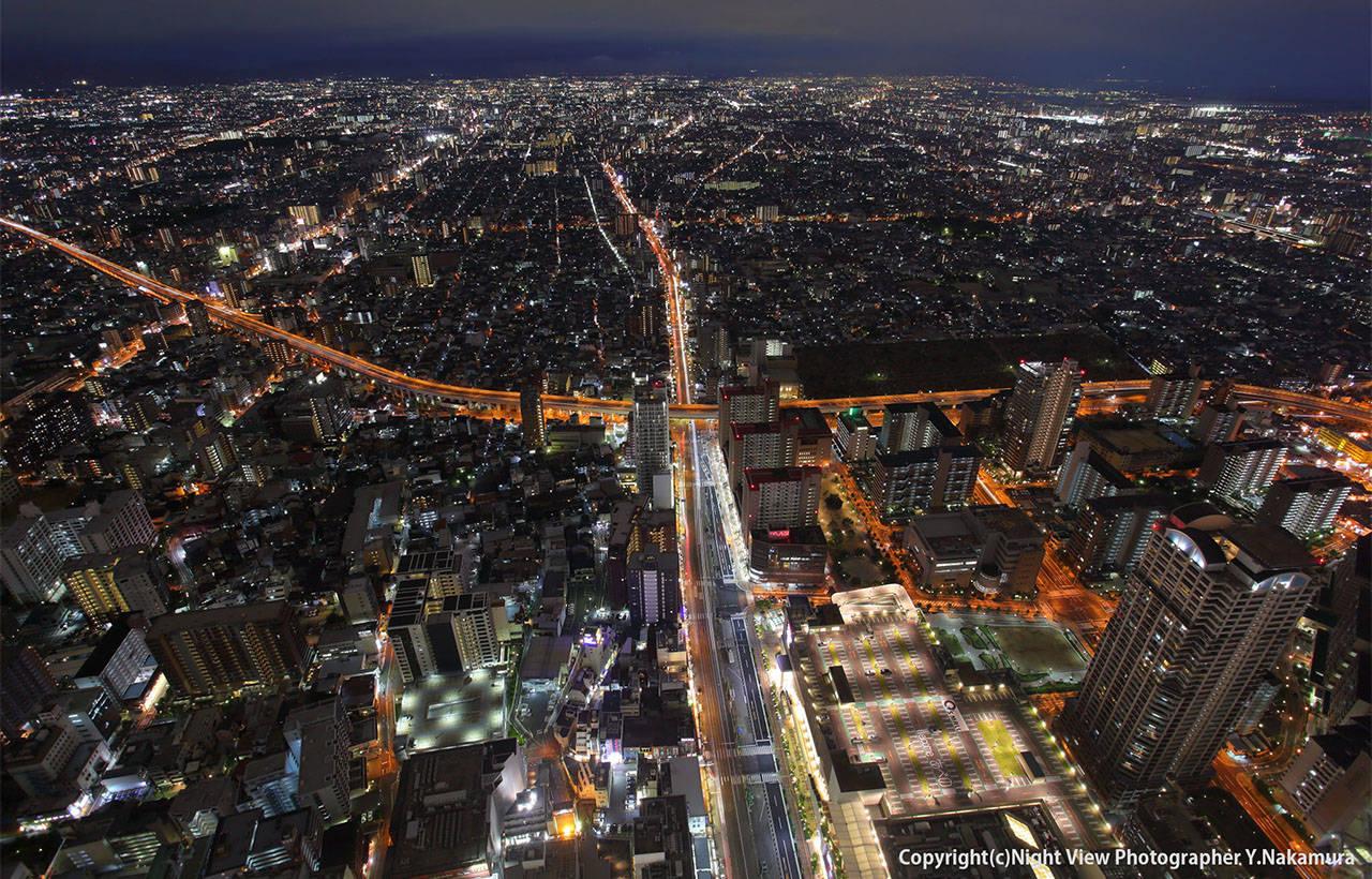 阿倍野海闊天空大廈 300展望台