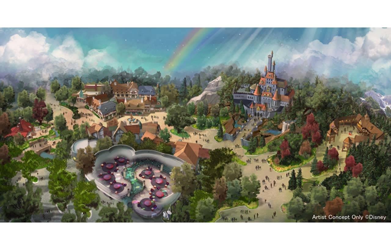 東京迪士尼樂園大規模擴建園區的各設施名稱已確定