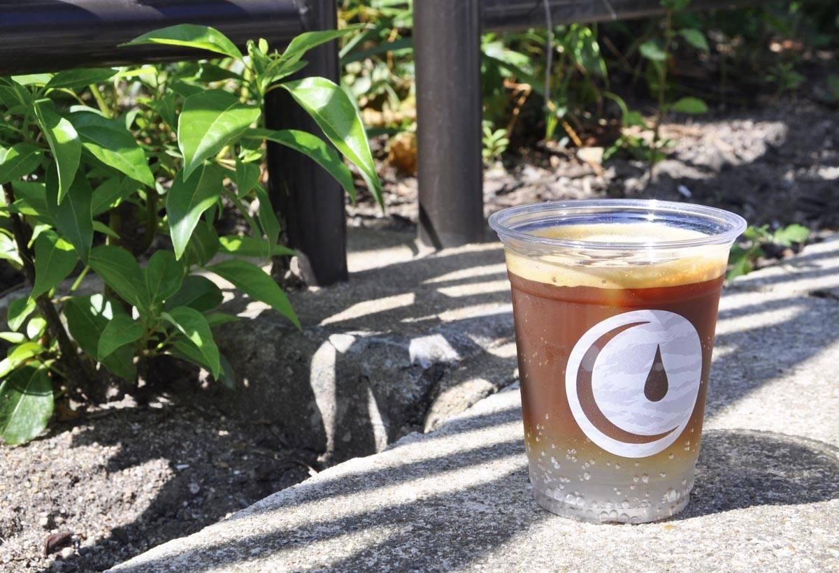 在濃縮咖啡中加入柑橘味碳酸通寧水,口感意外契合。