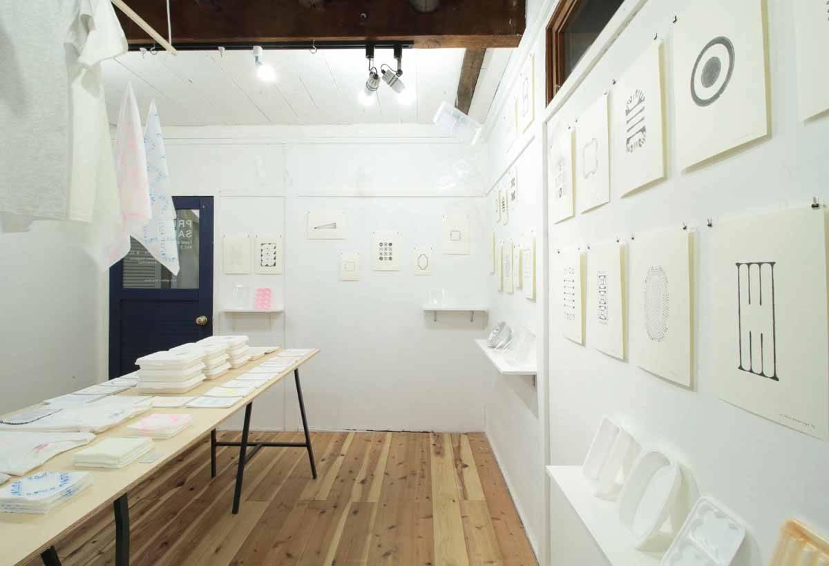 特地將店名取為「背景音樂」, 主張展示空間只是陪襯,現場的藝術作品才是重點。