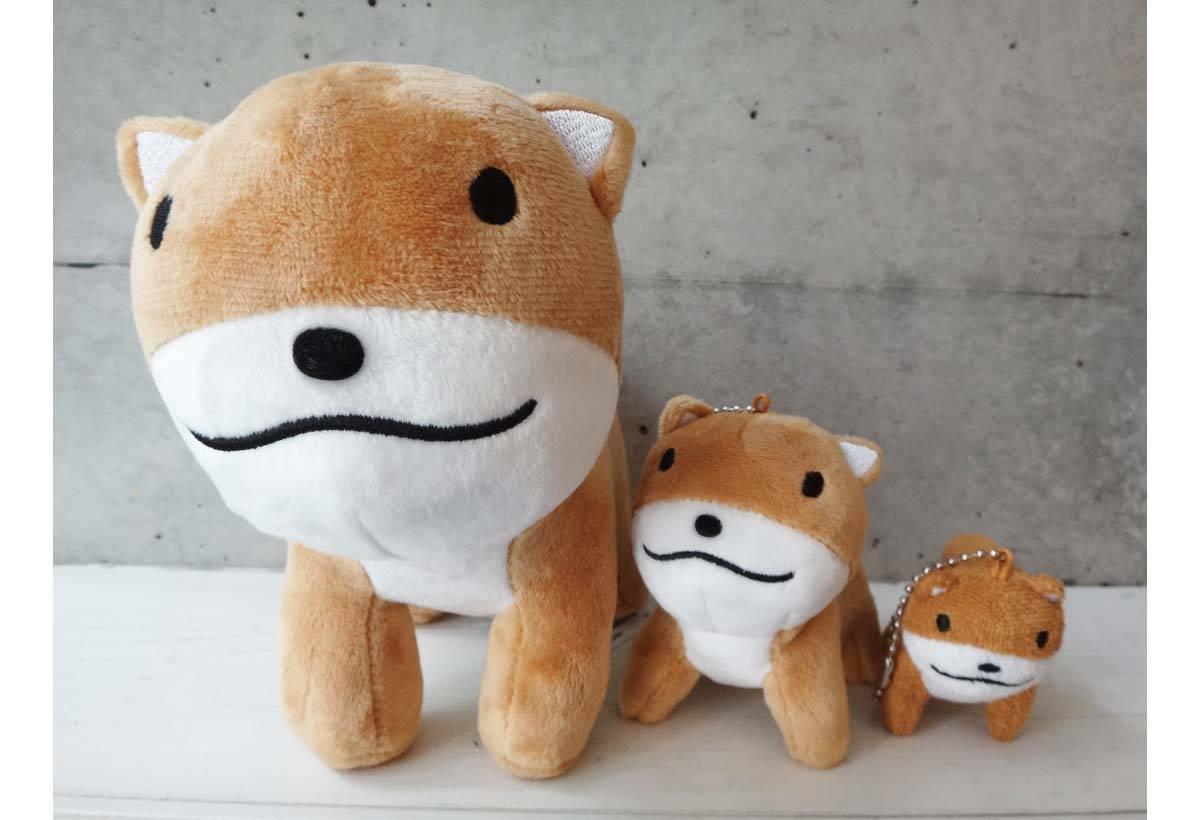 狗狗玩偶(1,650日圓)「剛毛獵狐梗」的造型 玩偶。※販售商品依時期有所不同。