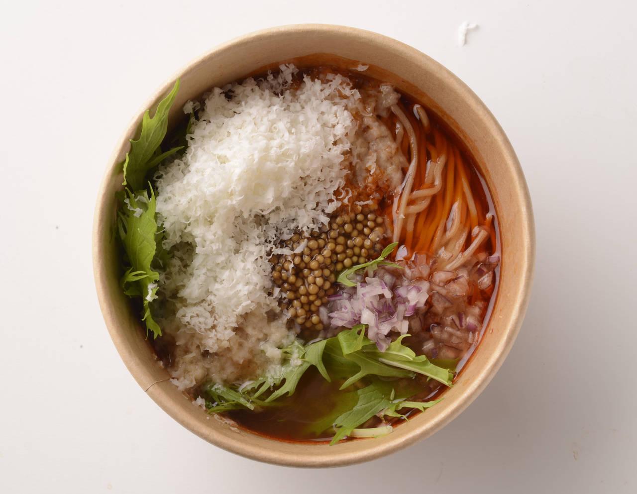 「蔬菜擔擔麵(ベジタブルタンタンヌードル)」 756日圓(含稅)