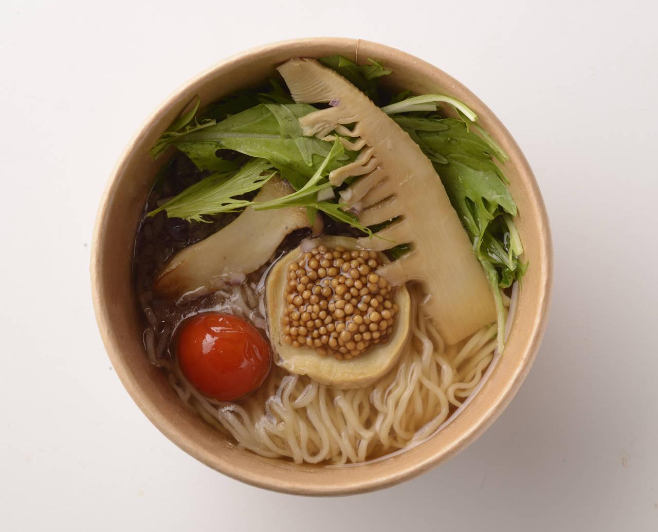 「素食麵(ヴィーガンヌードル)」 648日圓(含稅)