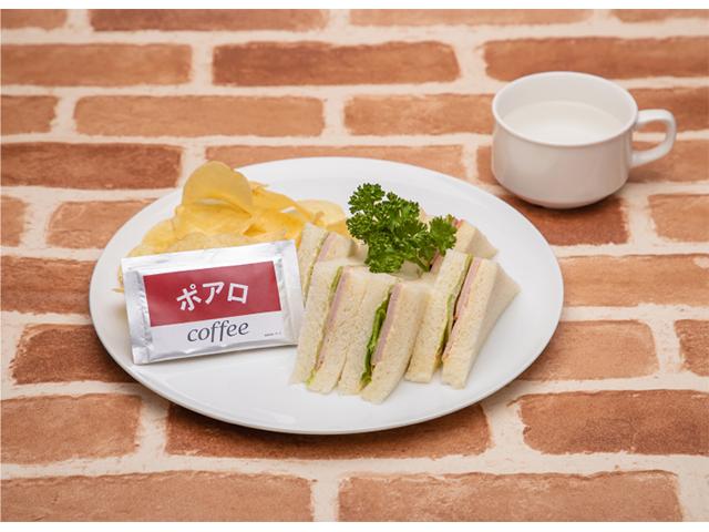 ●安室透特製!波羅咖啡廳的火腿三明治 1,390日圓
