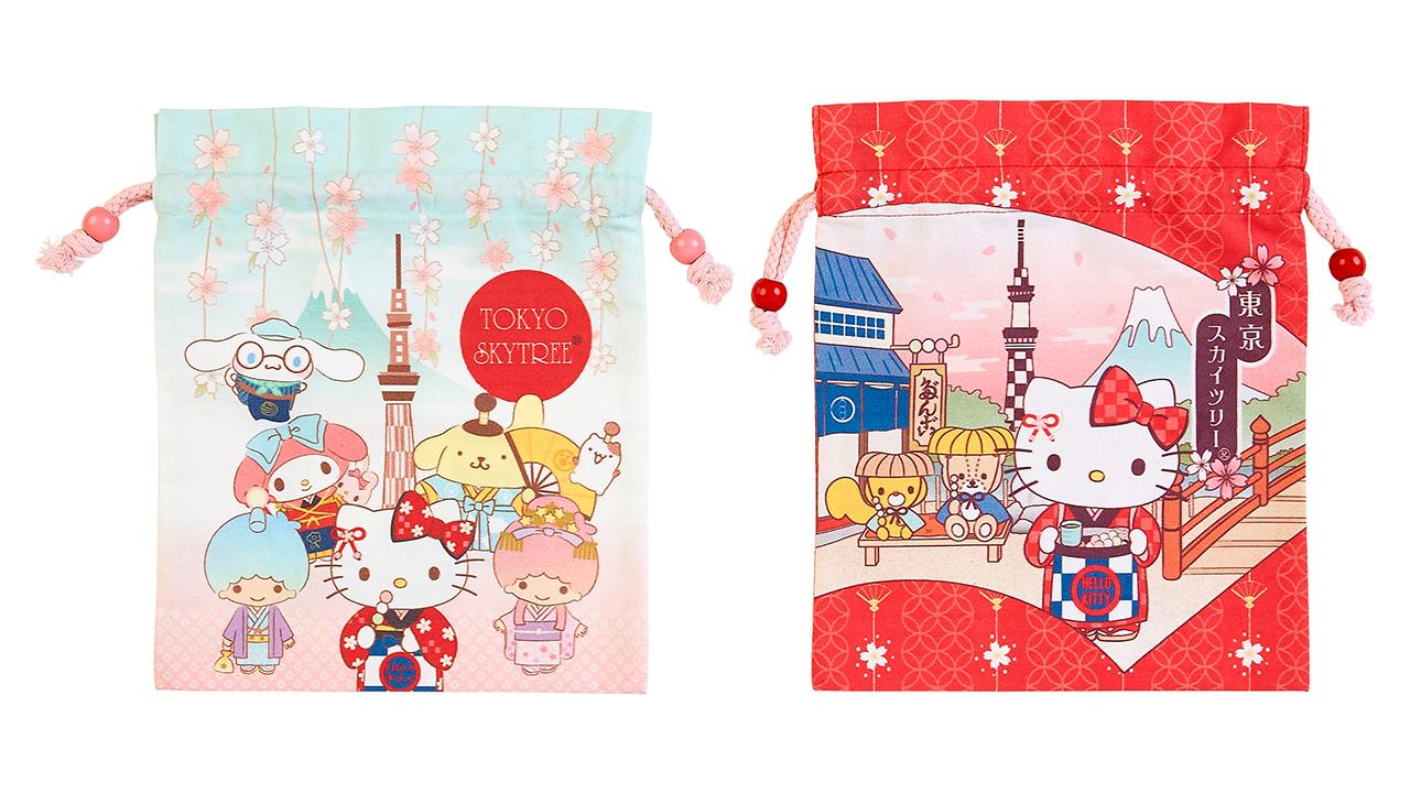 束口袋 972 日圓 全2種
