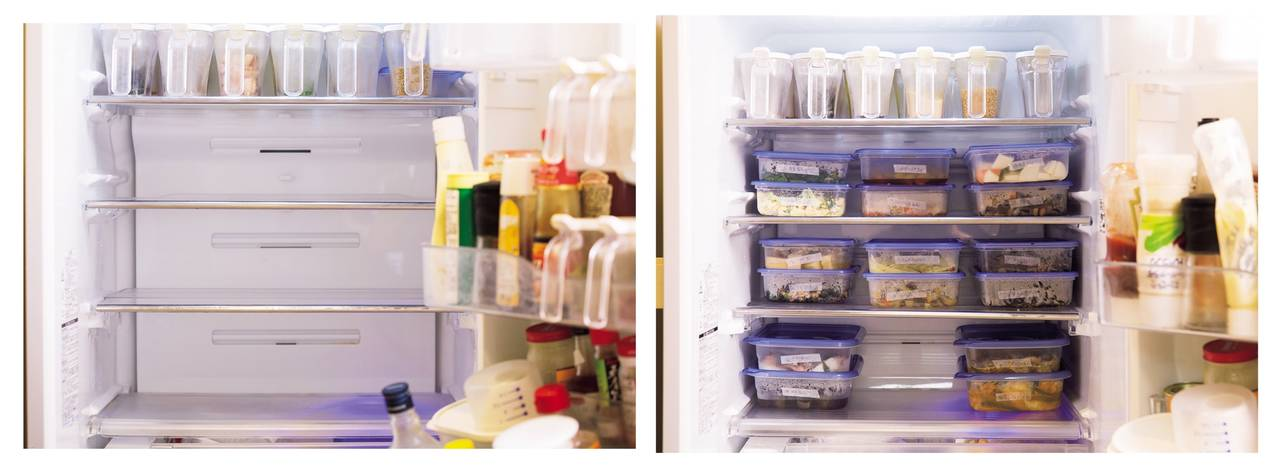 ・保持冰箱整齊乾淨,不要過度收納