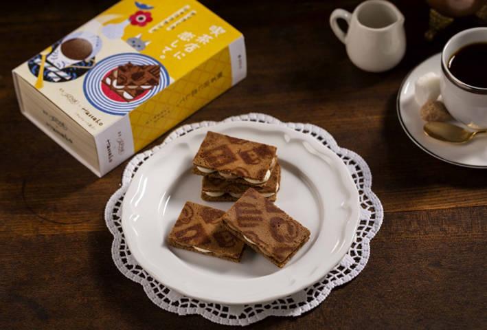 「提拉米蘇巧克力夾心餅乾」