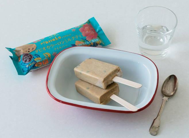 「珍珠烏龍奶茶冰棒」