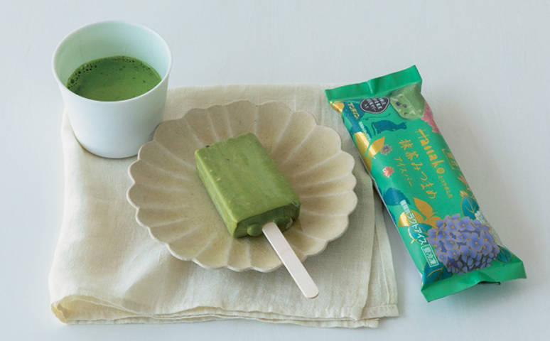 「抹茶蜜豆冰棒」