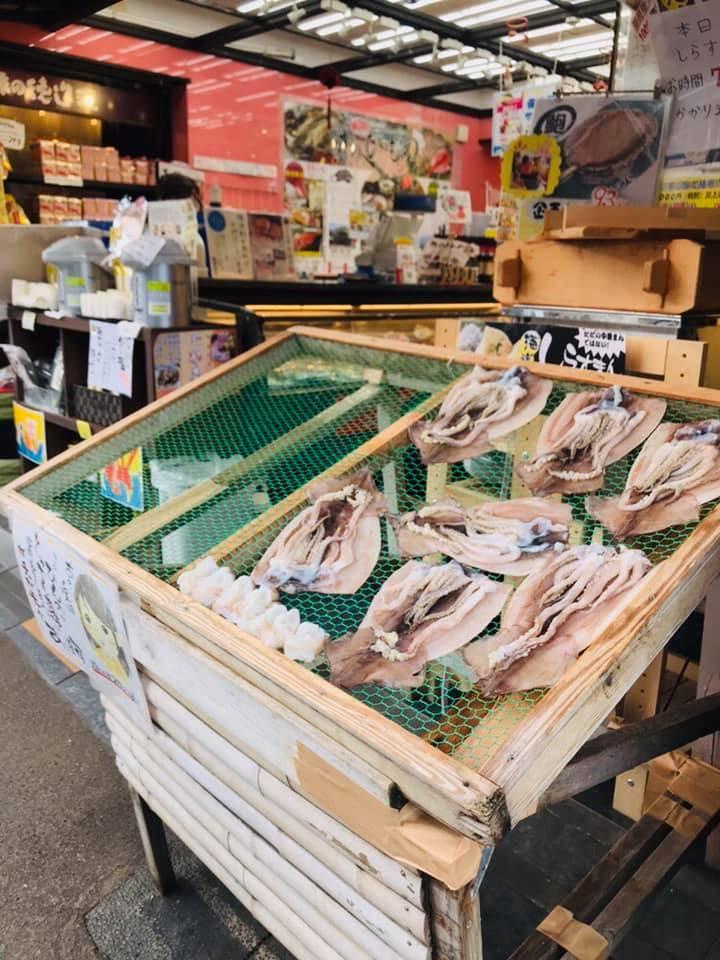 箱根出名的有魚干物