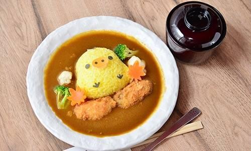 小黃雞的炸牡蠣咖喱  1,280日圓
