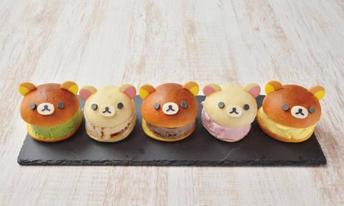 拉拉熊和熊妹妹的蜂蜜冰淇淋三明治