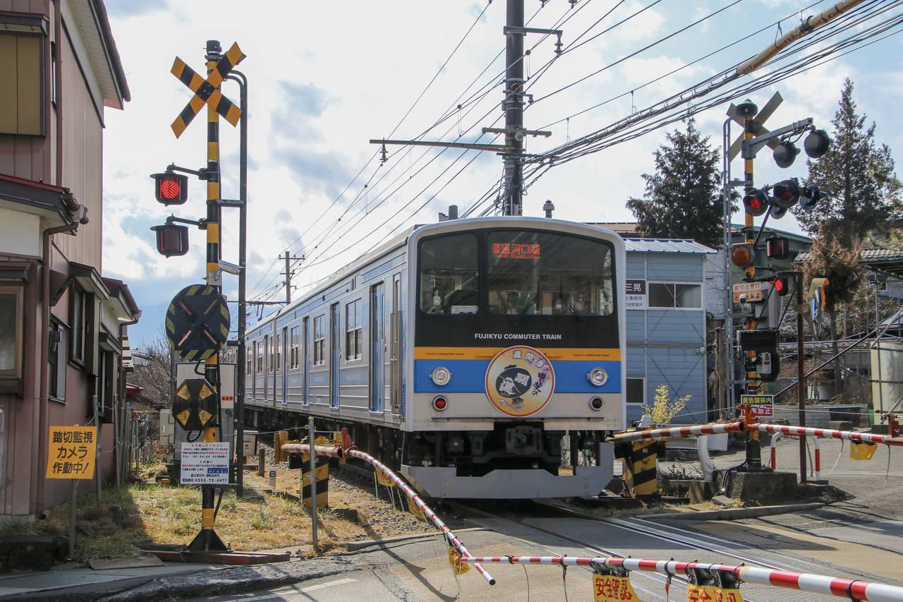 日本的鐵路也是一大特色。