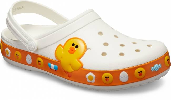 Crocband™ LINE FRIENDS Clog(White)