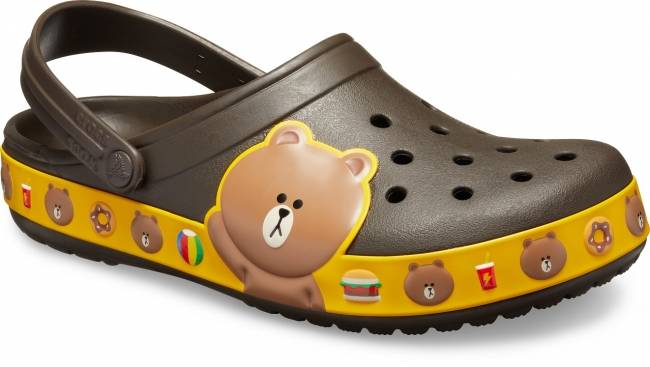 Crocband™ LINE FRIENDS Clog(Espresso)