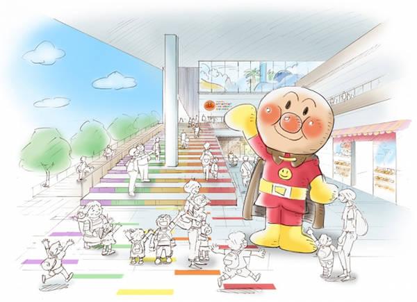 正面入口示意圖©柳瀨嵩/FROEBEL館・TMS・NTV