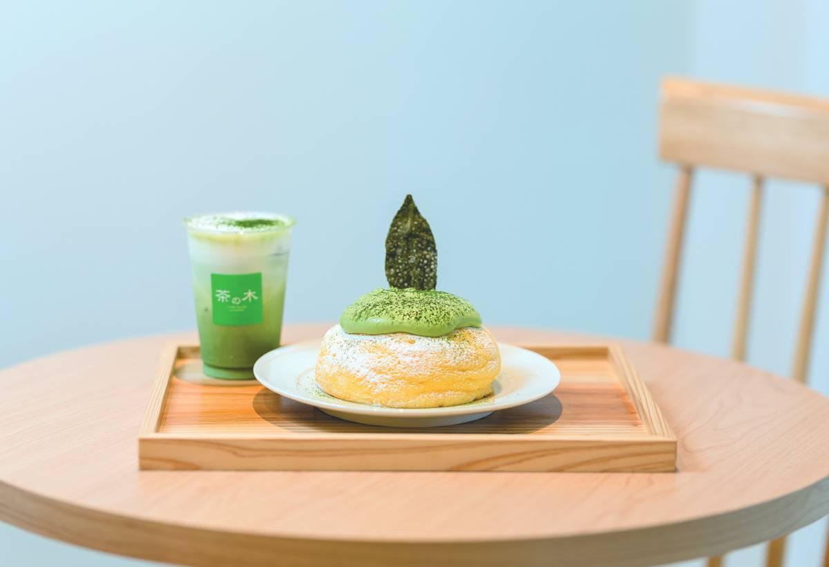伴著甜點,品味石臼研磨抹茶的深層滋味,盡享奢華