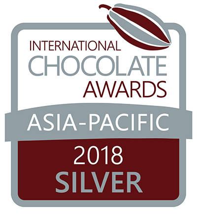 培茶巧克力獲2018年國際巧克力大獎銀獎