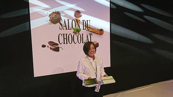 2018年「SALON DU CHOCOLAT」