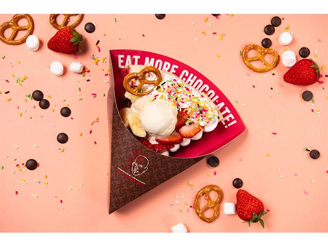 MAX BRENNER CHOCOLATE PIZZA BAR期間限定菜單 「la farfa特別款巧克力披薩」