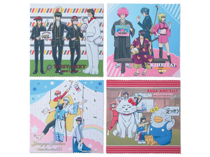 ●小方巾 共4種 各600日圓 (不含稅)