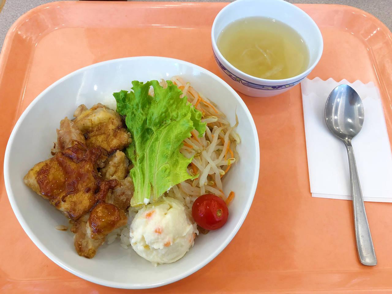 油淋雞套餐(理事長特別菜單版) 500日元