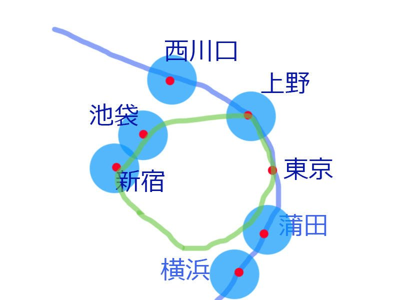 東京有大量外國人、華人聚集的地區