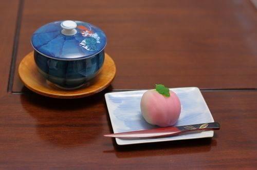 茶與和菓子