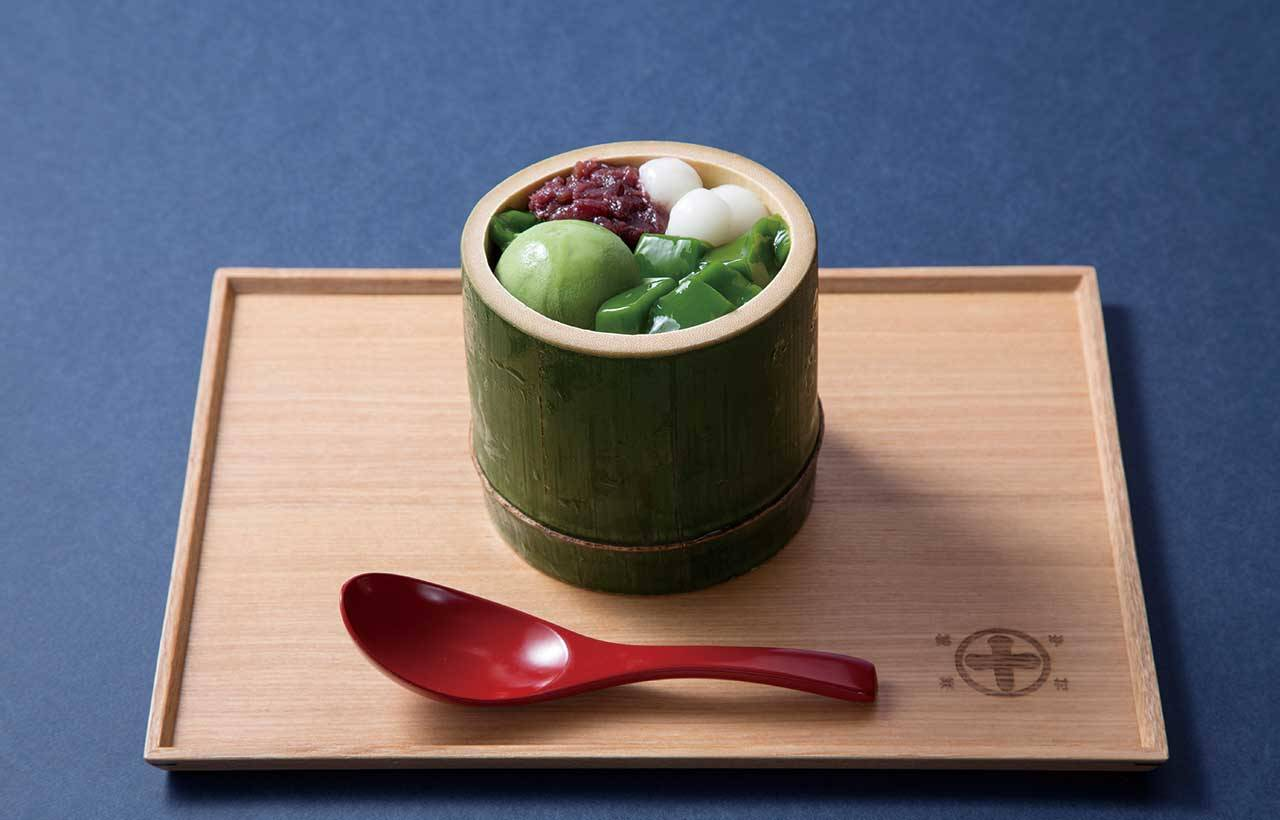 1.「生茶凍(抹茶)」(900日圓)滑溜順口