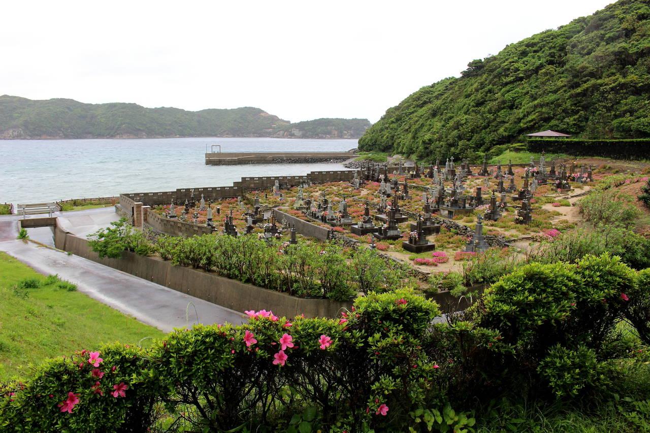 基督徒墓地,位於五島列島的「頭島」。
