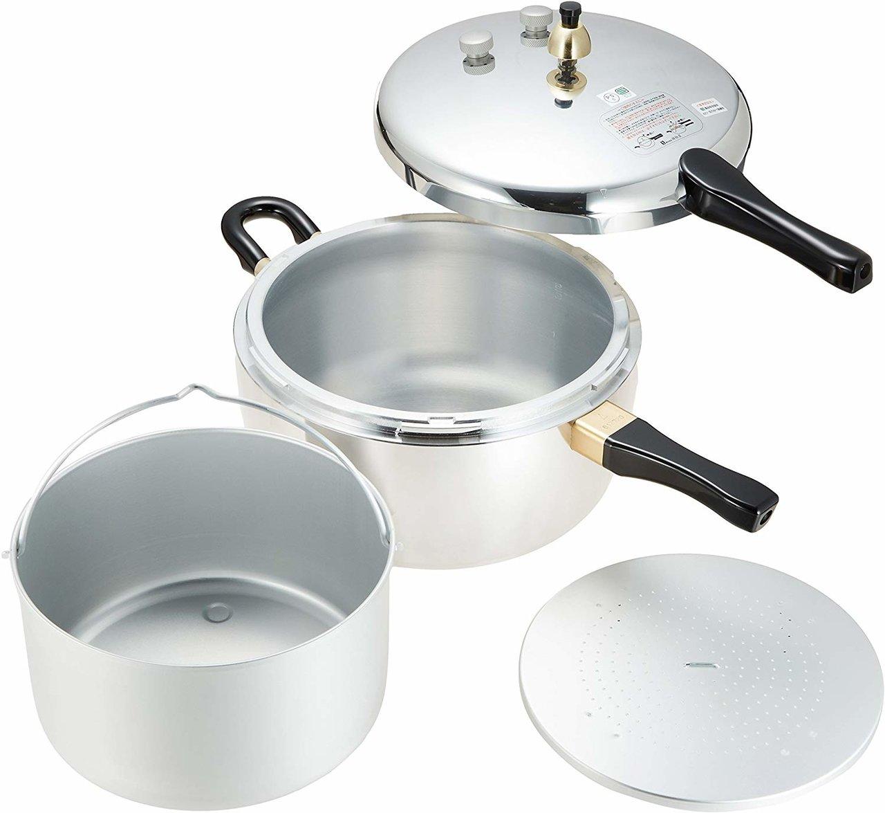 平和『鋁製單柄壓力鍋 6.0L』