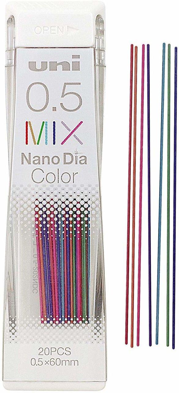 【Uni三菱】Uni Nano Dia 202NDC1P Color 自動鉛筆彩色筆芯(0.5mm)