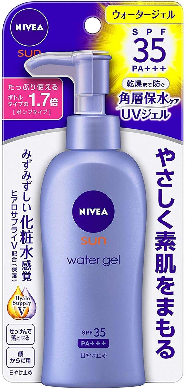 NIVEA花王『NIVEA sun 防曬水凝露 SPF35(按壓式)』