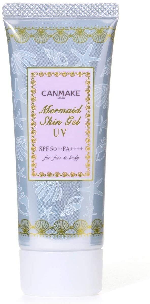 CANMAKE『水漾滋潤美人魚防曬妝前透明隔離乳』