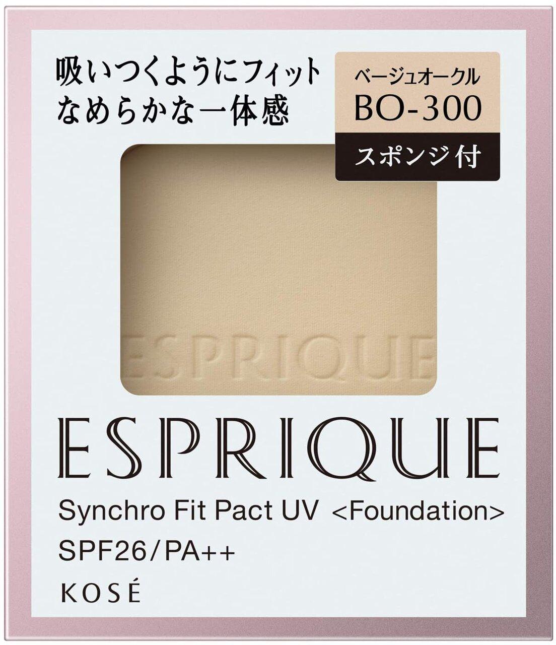 綜合第20名:KOSE ESPRIQUE『丰靡美姬‧幻粧Synchro Fit pact UV 粉餅』