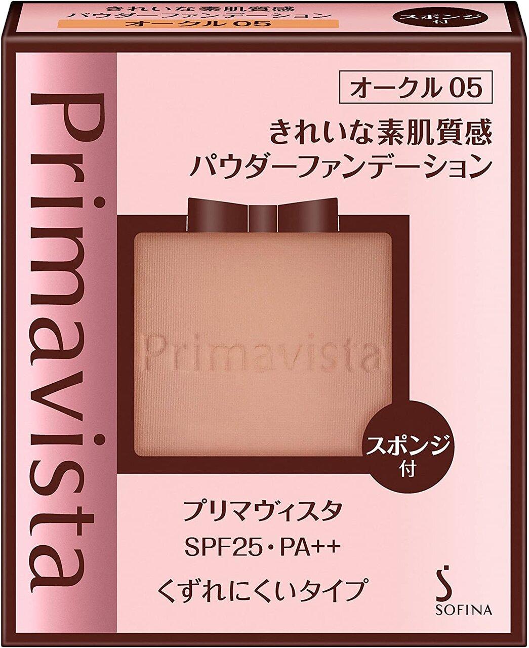 綜合第4名:花王 SOFINA Primavista『輕透裸膚長效粉餅』