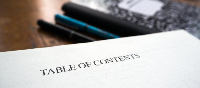 本の目次の作り方【出版社をやってみて分かった「本と企画のつくり方」】