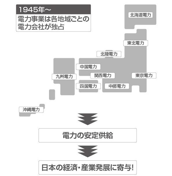 電力会社の「地域独占」が日本を支えてきた