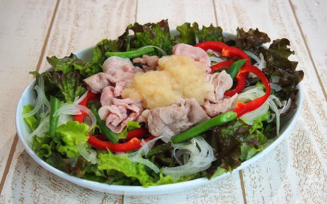 豚しゃぶサラダ