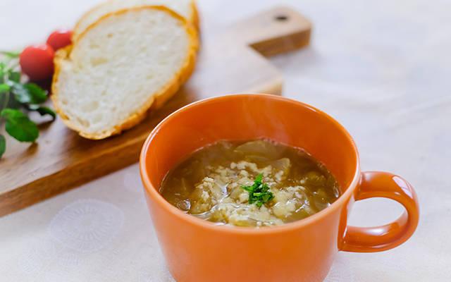 アップルオニオンスープ