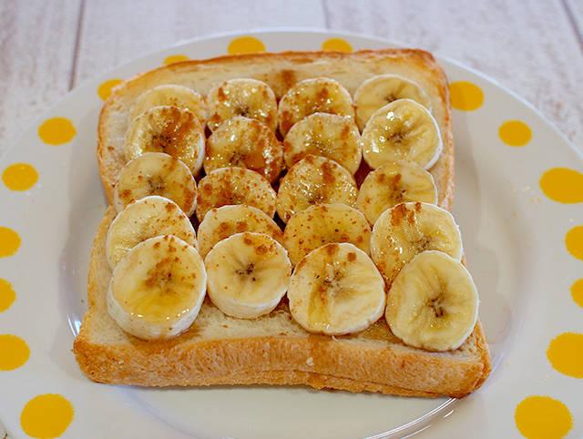 メイプルバナナトースト