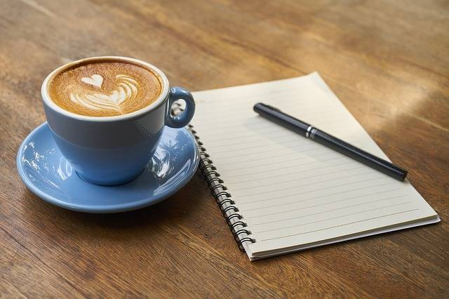 Coffee Pen Notebook - Free photo on Pixabay (2097)