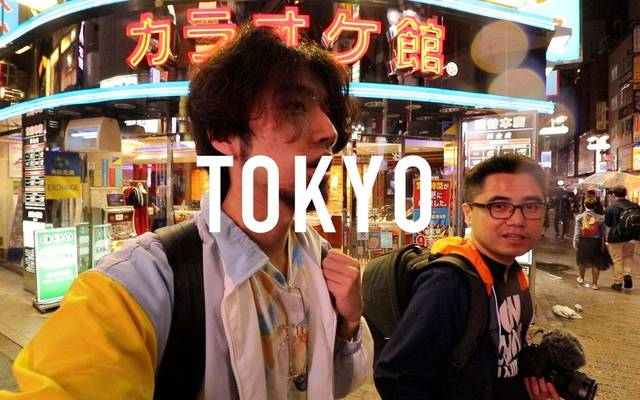 """""""@大概是井越""""、微博で人気の動画ブロガー(Vloger)"""
