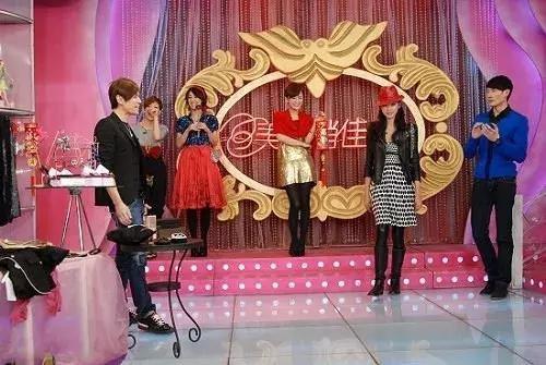 中国のメイクアップショー番組「美麗俏佳人」