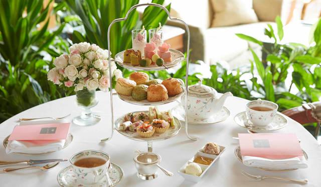 春を満喫できる「桜アフタヌーンティー」がホテル椿山荘東京でスタート