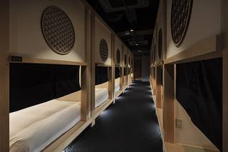 """""""泊まれる茶室"""" 新型カプセルホテル 「ホテル・ゼン・トーキョー」今春オープン"""